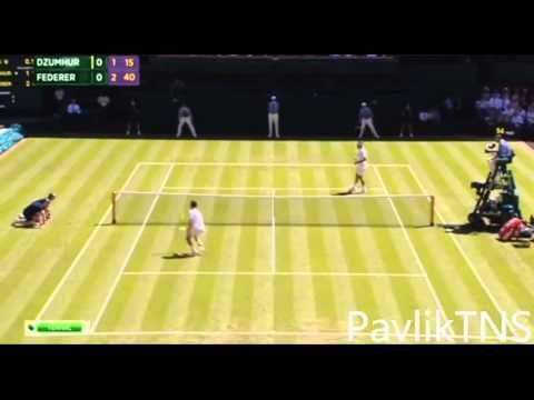 Le magnifique point de Roger Federer vs Dzumhur (video) - http://bit.ly/1HwoSIf
