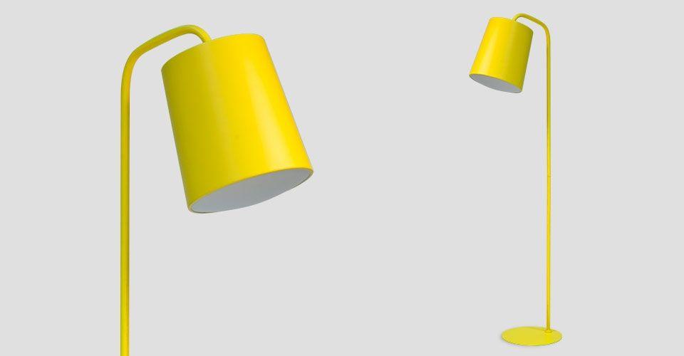 Dana Floor Lamp, Yellow