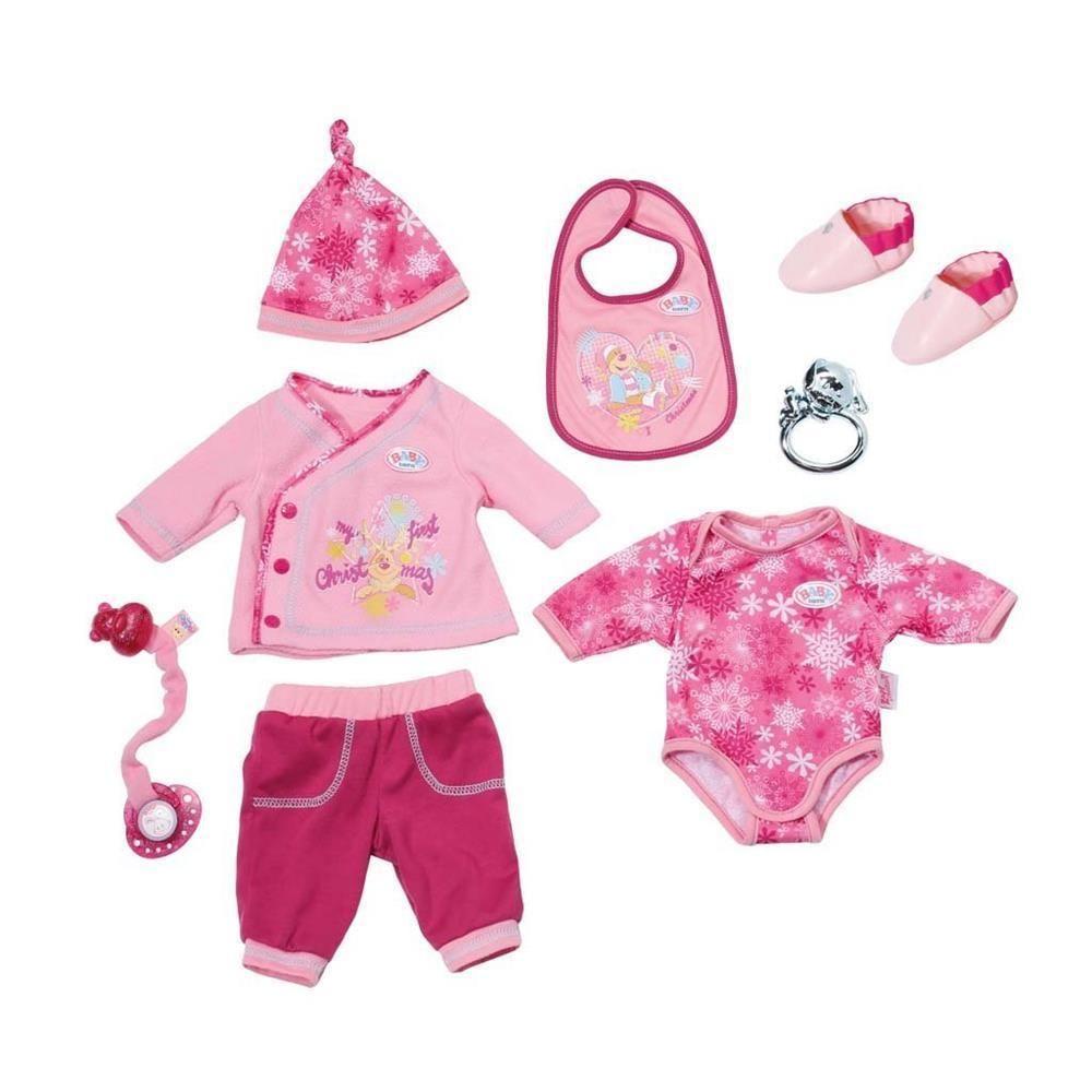 Zapf Creation 822326 Baby Born Happy Birthday Christmas Set Markenspielpuppe In Spielzeug Puppen Zubehor Babypuppe Baby Geboren Baby Puppen Zapf Creation