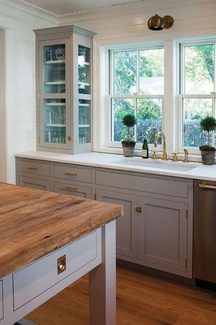 How To Know If Your Kitchen Cabinets Should Go To The Ceiling Kitchen Interior Kitchen Design Kitchen Renovation