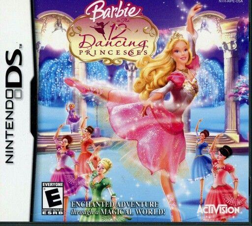 Nintendo Ds Barbie 12 Dancing Princesses Barbie 12 Dancing