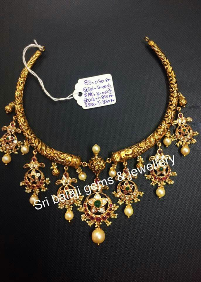 Pin By Chalsi Rose On Indian Latest Jewellery Gold Jewelry Fashion Jewelry Gold Necklace Designs