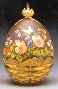 """3) FABERGE eggs__Theo Fabergé __"""" Summer Egg"""