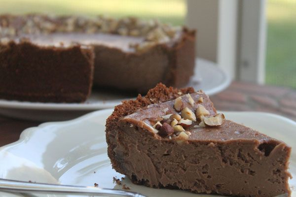 Nutella Cheesecake With Biscoff Cookie Crust Con Imagenes