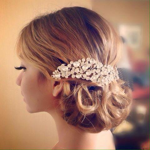 bridal hair styling  www.dianacamposmakeup.com