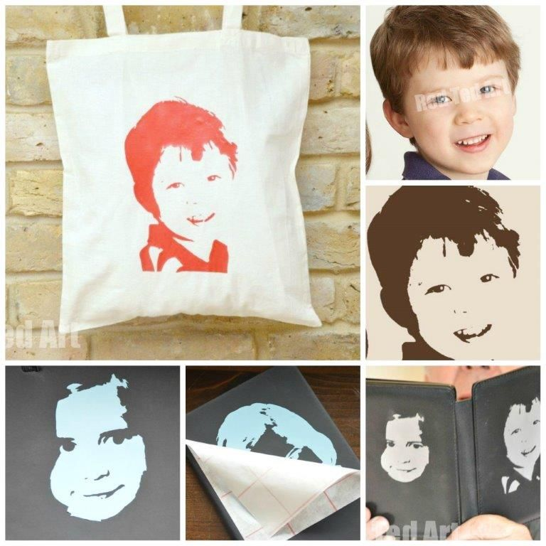Pop Art Your Kids - Personalised Gifts - Red Ted A