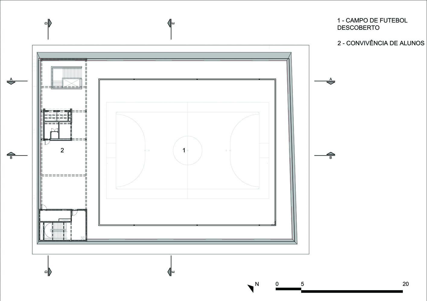 Galeria De Ginasio De Esportes Do Colegio Sao Luis Urdi Arquitetura 42 Sao Luis Sports Art Sao