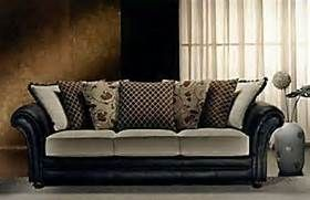 Fabric And Leather Combination Sofa Bing Images Fabric Sofa Luxury Furniture Living Room Fabric Chesterfield Sofa