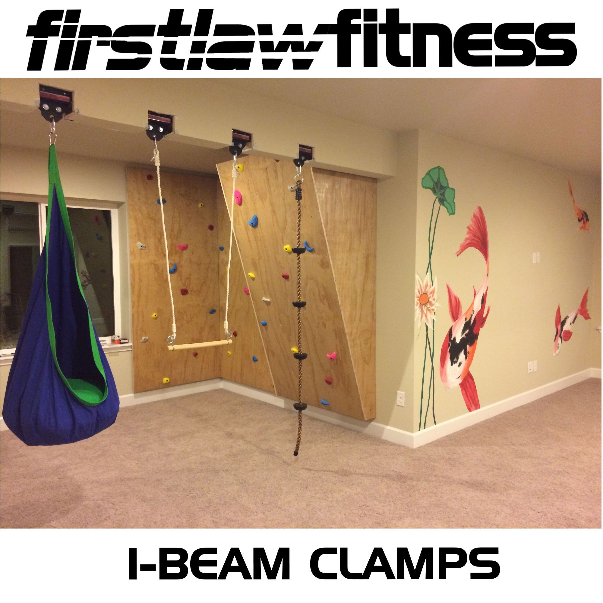 Check out this creative way to use our ibeam clamps