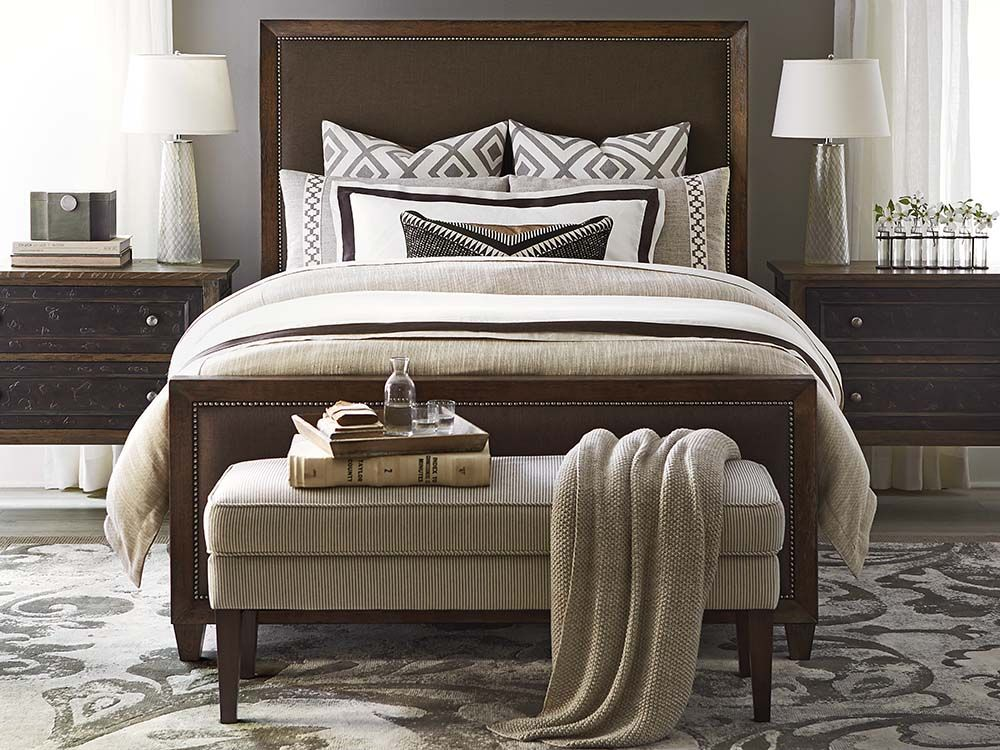 Compass Upholstered Bed