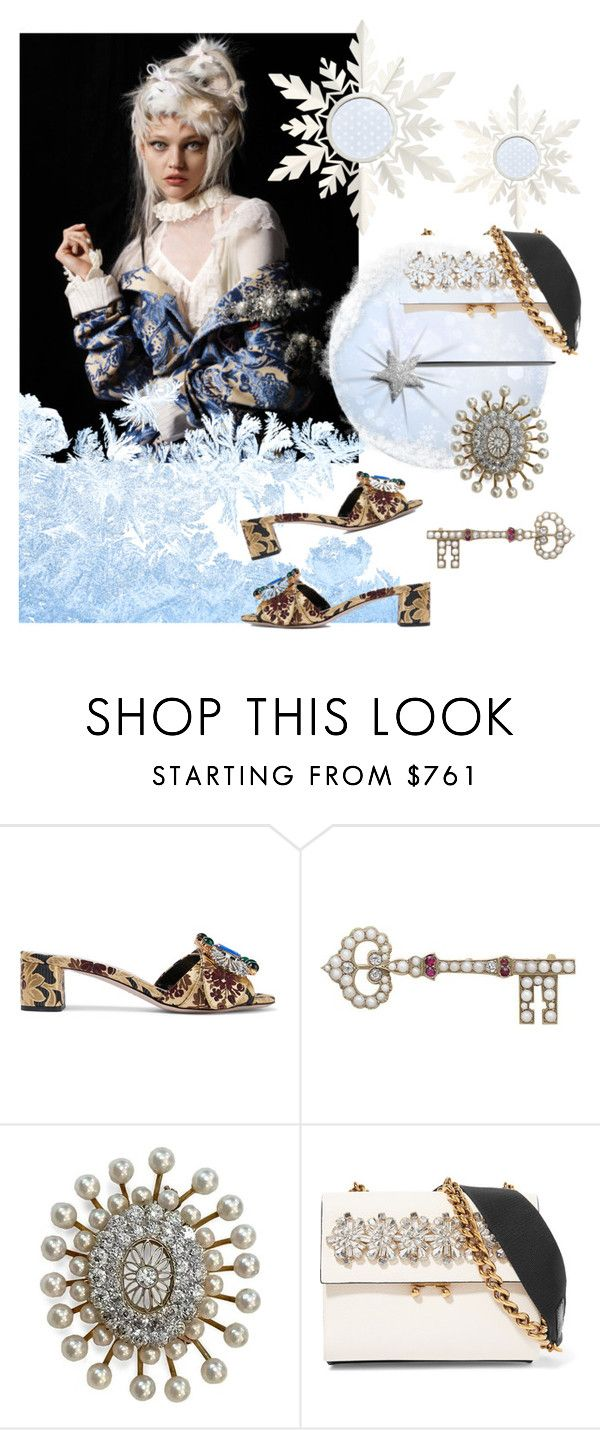 """Accessory World - Ice Queen - Key To The Kingdom"" by jacque-reid ❤ liked on Polyvore featuring Miu Miu, Marni, miumiu, marni and 1stdibs"