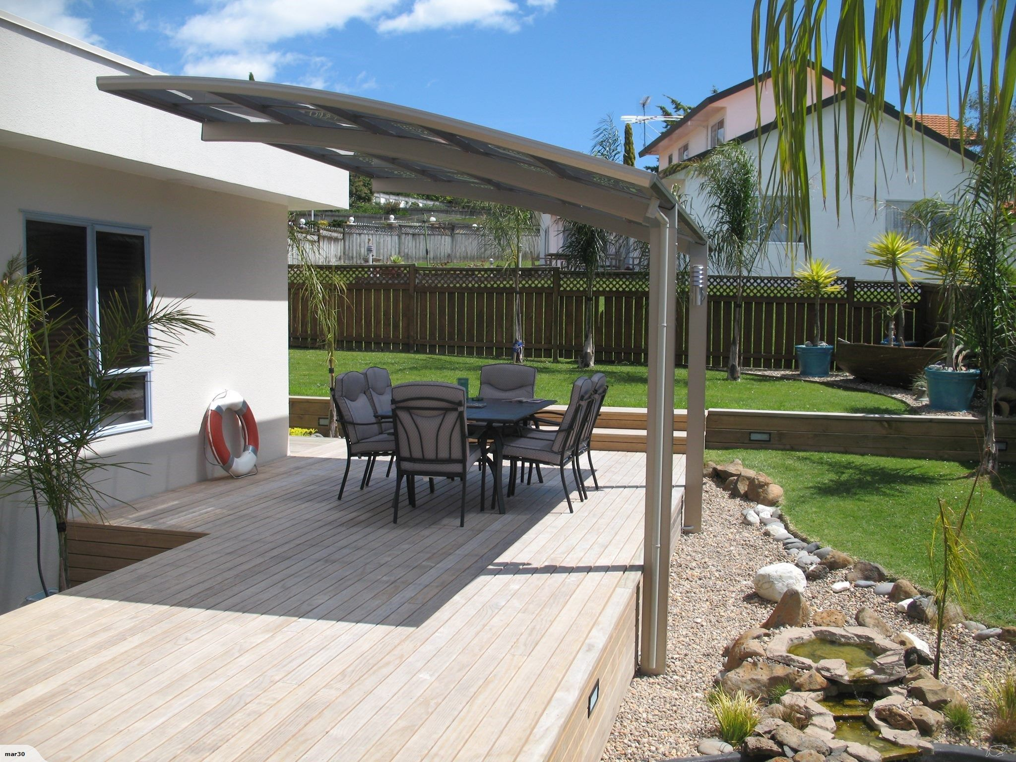 Cantilever Patio Cover Carport Made In Japan Uniport