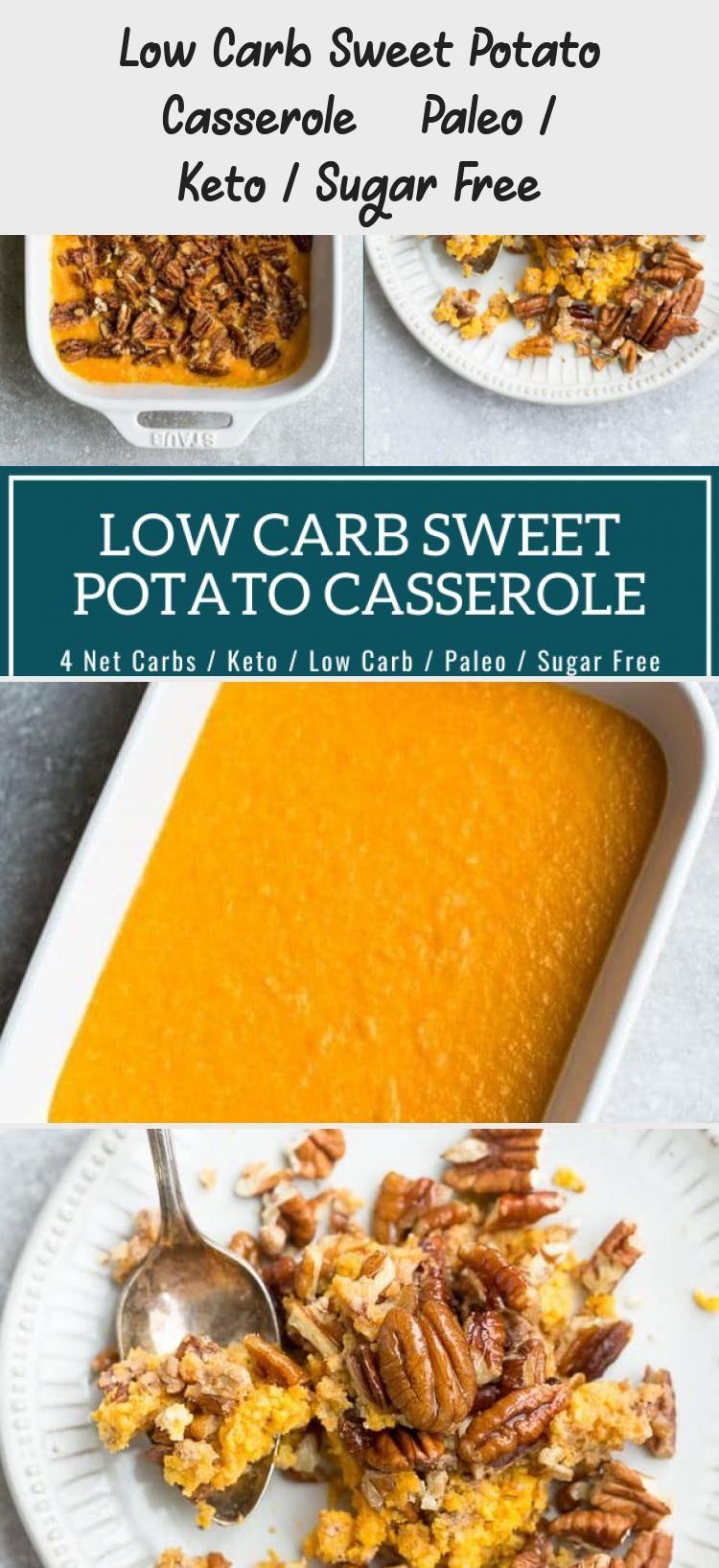 Low Carb Sweet Potato Casserole Paleo Keto Sugar Free