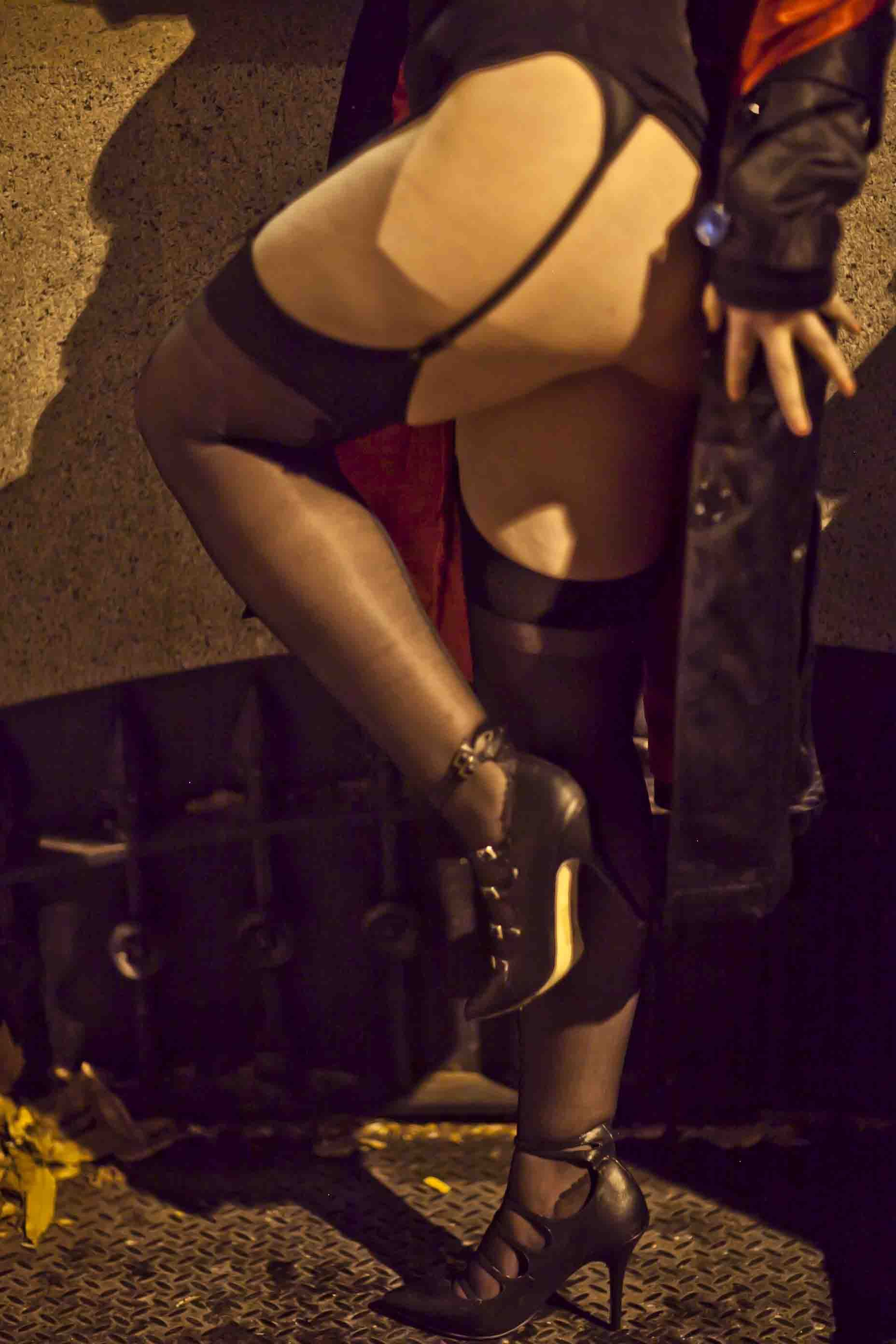 ChantalThomass stockings Stockings, Superhero, Portrait