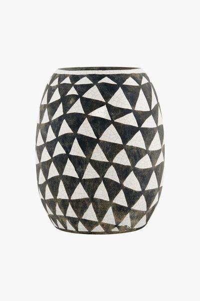 Vase forme triangles 1