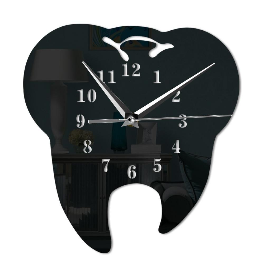 Abusive White Dental Office Teethwhiteningathome Dentalofficeikea Mirror Wall Clock Wall Clock Wall Clock Design