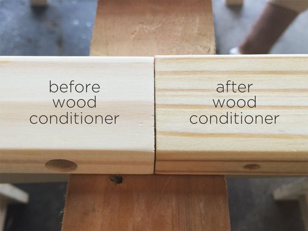 Use Wood Conditioner Before Staining Wood Furniture To