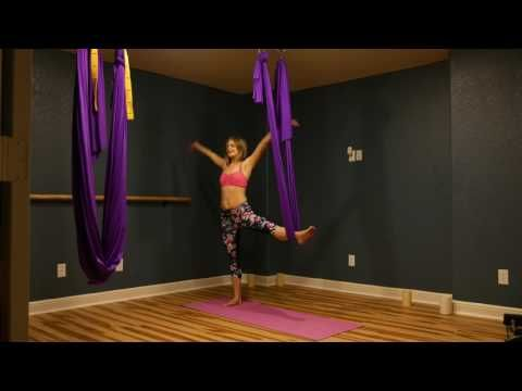 34 yoga aerial swing lesson 1 for beginners  youtube