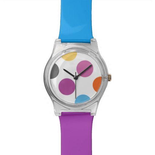 Colourful Dots - Wrist Watch