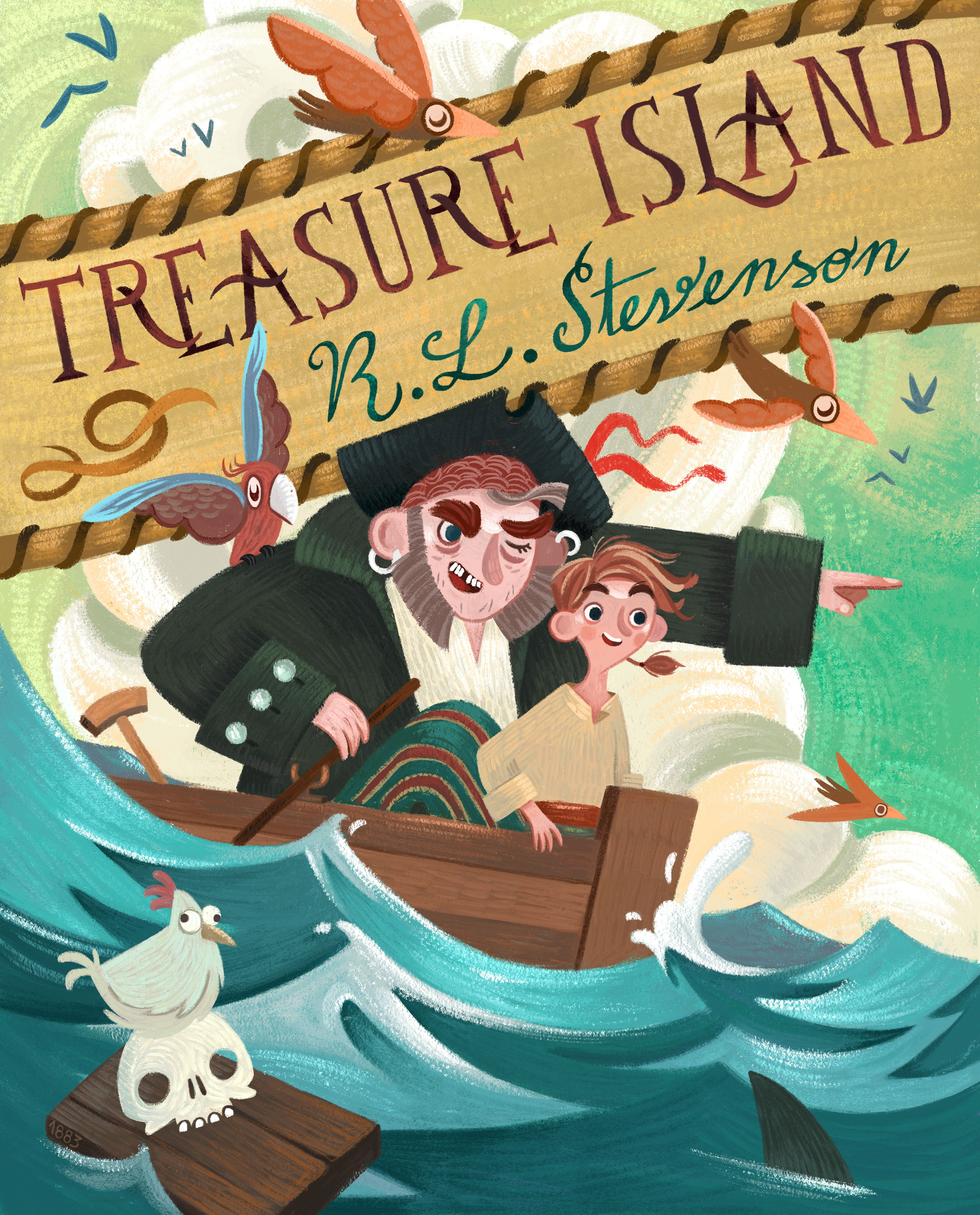 Check Out This Behance Project Treasure Island S