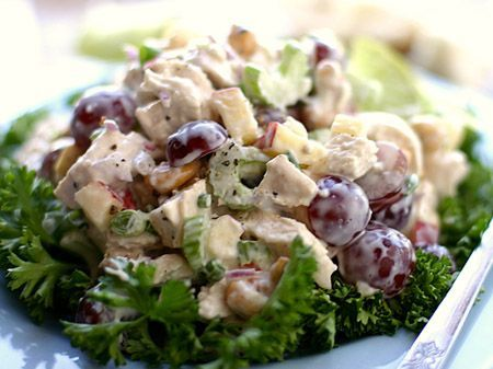 The Best Chicken Salad I Ever Ate! - http://delectablesalads.com/the-best-chicken-salad-i-ever-ate/ -