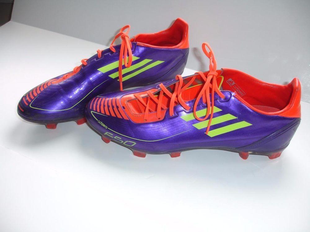 Desempleados estudiar Las bacterias  ADIDAS Adizero F50 F30 Traxion Soccer Cleats Purple Orange Spikes Mens US  10 #adidas   Ebay finds, Sport shoes, Shoes
