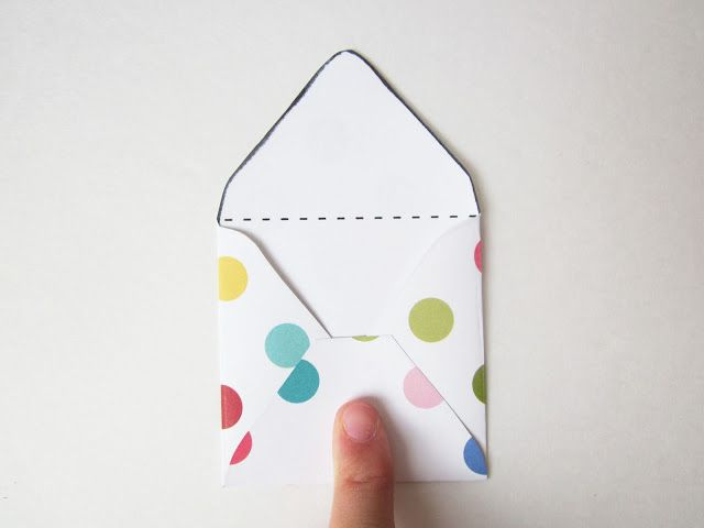 Diy Mini Envelopes Free Printable Pattern  Tutorial  Projects