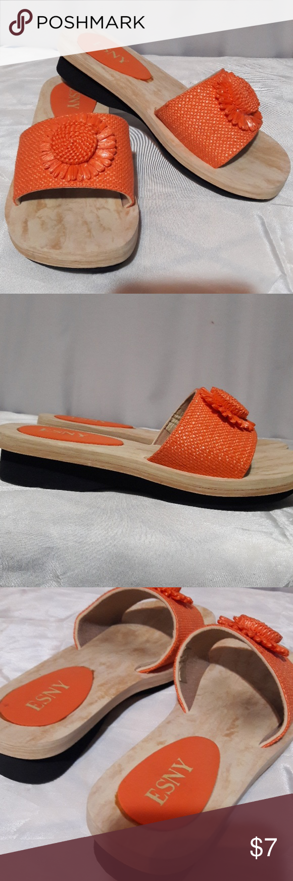 87fb15635ff95 Slides sandals 7m foam lightweight shoes 6.5   7 very good condition Shoes  Sandals