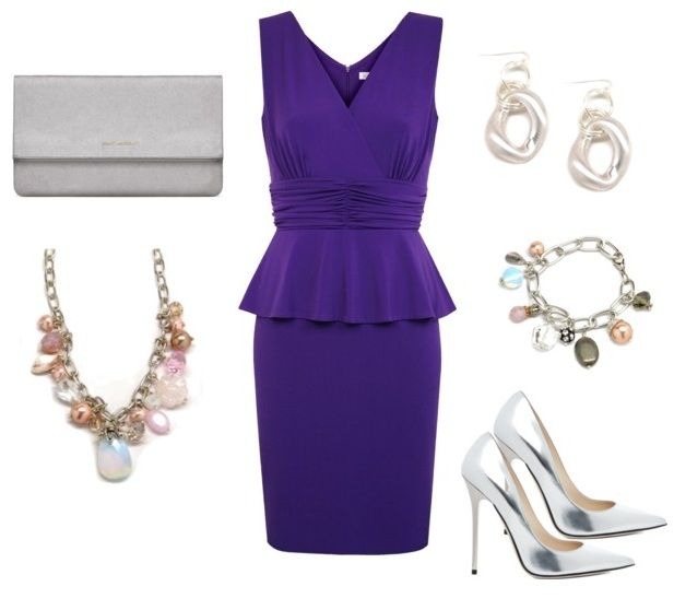 What Jewelry to Wear with Purple Dress
