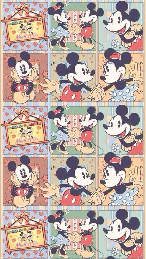 Mickey And Minnie All Things Disney Mickey Mouse Wallpaper