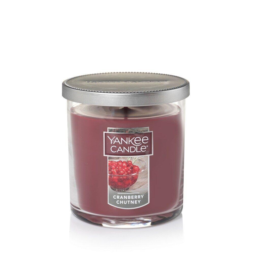 Fruit Scent Yankee Candle Cranberry Chutney Medium Jar Candle
