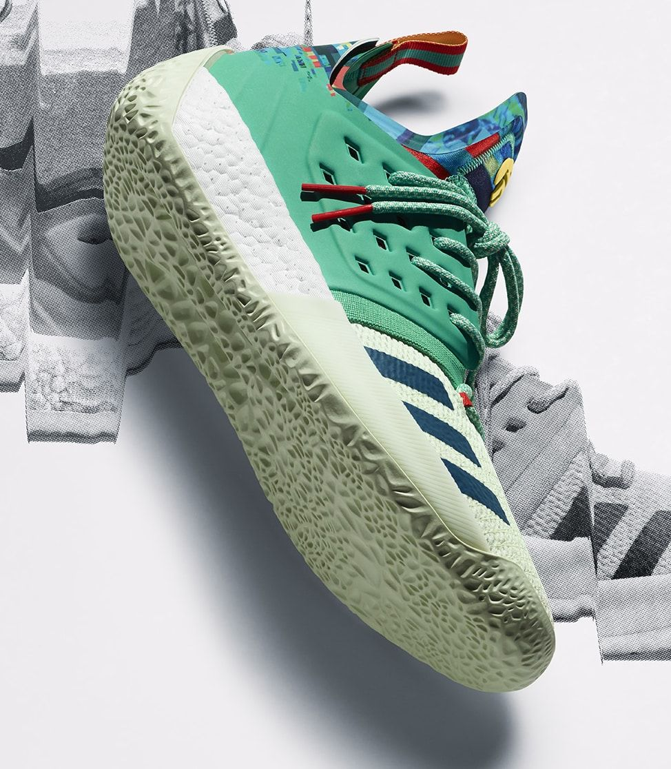 Adidas James Harden Vol. 2 Vision. 747 Warehouse exclusive. aka ALL STARS 0ace30d0bbff