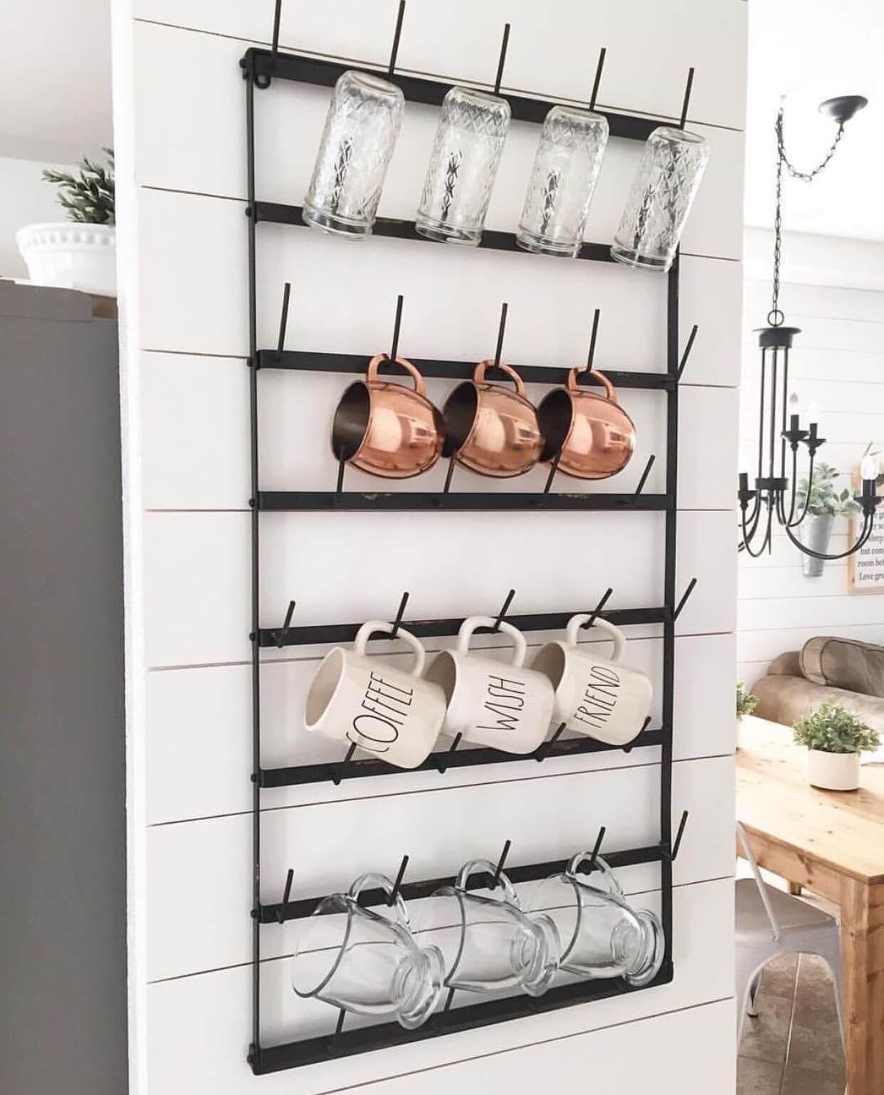 45 Practical Storage Ideas For A Small Kitchen Organization Kitchen On A Budget Modern Farmhouse Decor Small Kitchen Storage