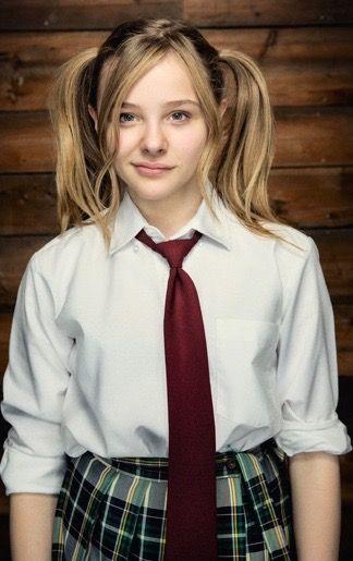 Chloe Grace Moretz So Pretty Beautiful Face Hot Girl Kawaii