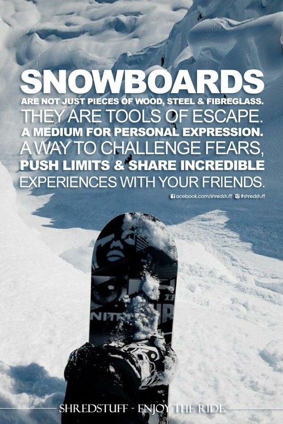 shredlife @grantlovesverit | Winter | Snowboarding quotes