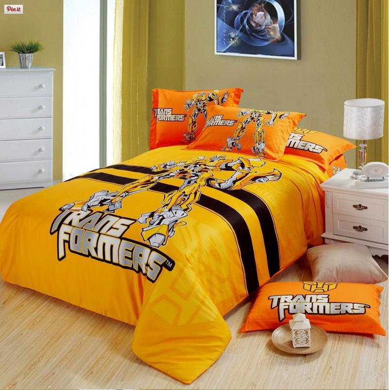 Transformers Bedding Set 100 Cotton 5pcs In 2019