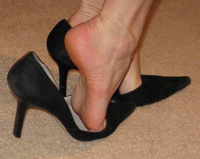 Woman foot fetish-1535