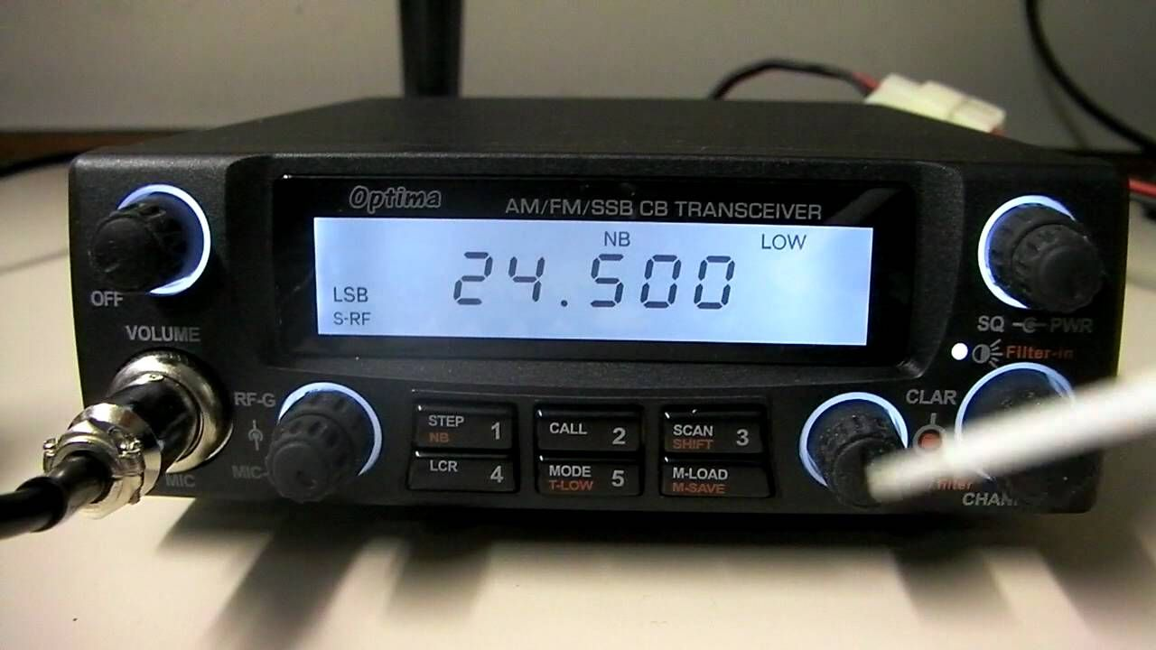 Yeticom Optima 10 11 12 Meter SSB CB Ham Export Radio | Amateur