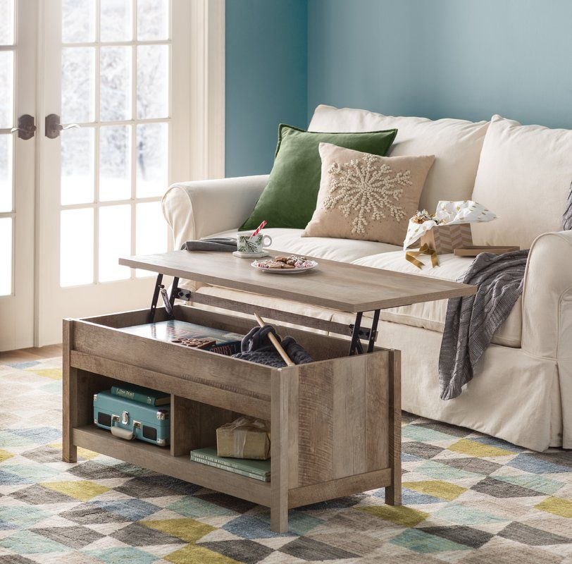 Tilden Lift Top Coffee Table With Storage Coffee Table With