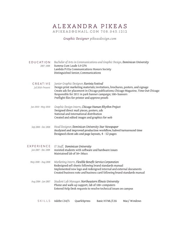 This is a great example of a beautiful and simple resume that does - resume sample 2018