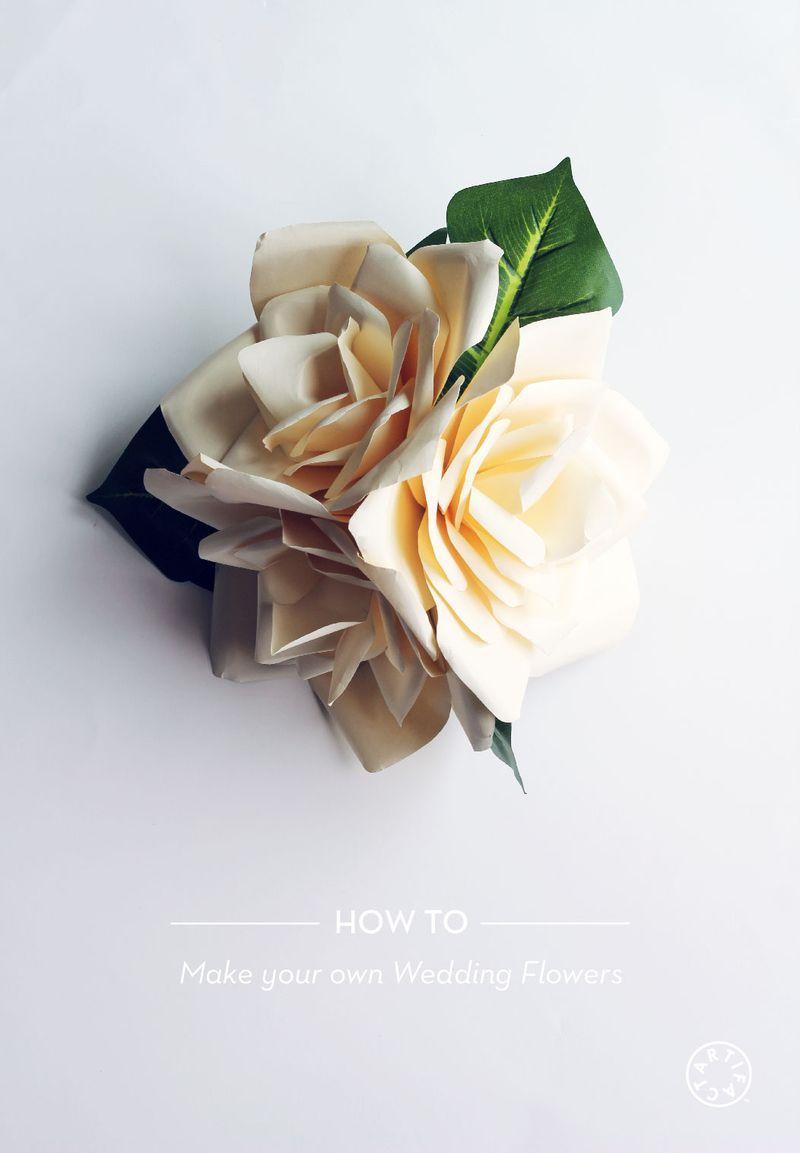 Artifact Skin Co. | How to Make Your Own Wedding Flowers: artifactgirl.com