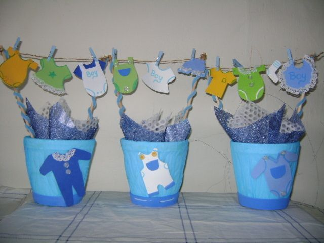 ideas de decoracin para un baby shower perfecto centro de mesa