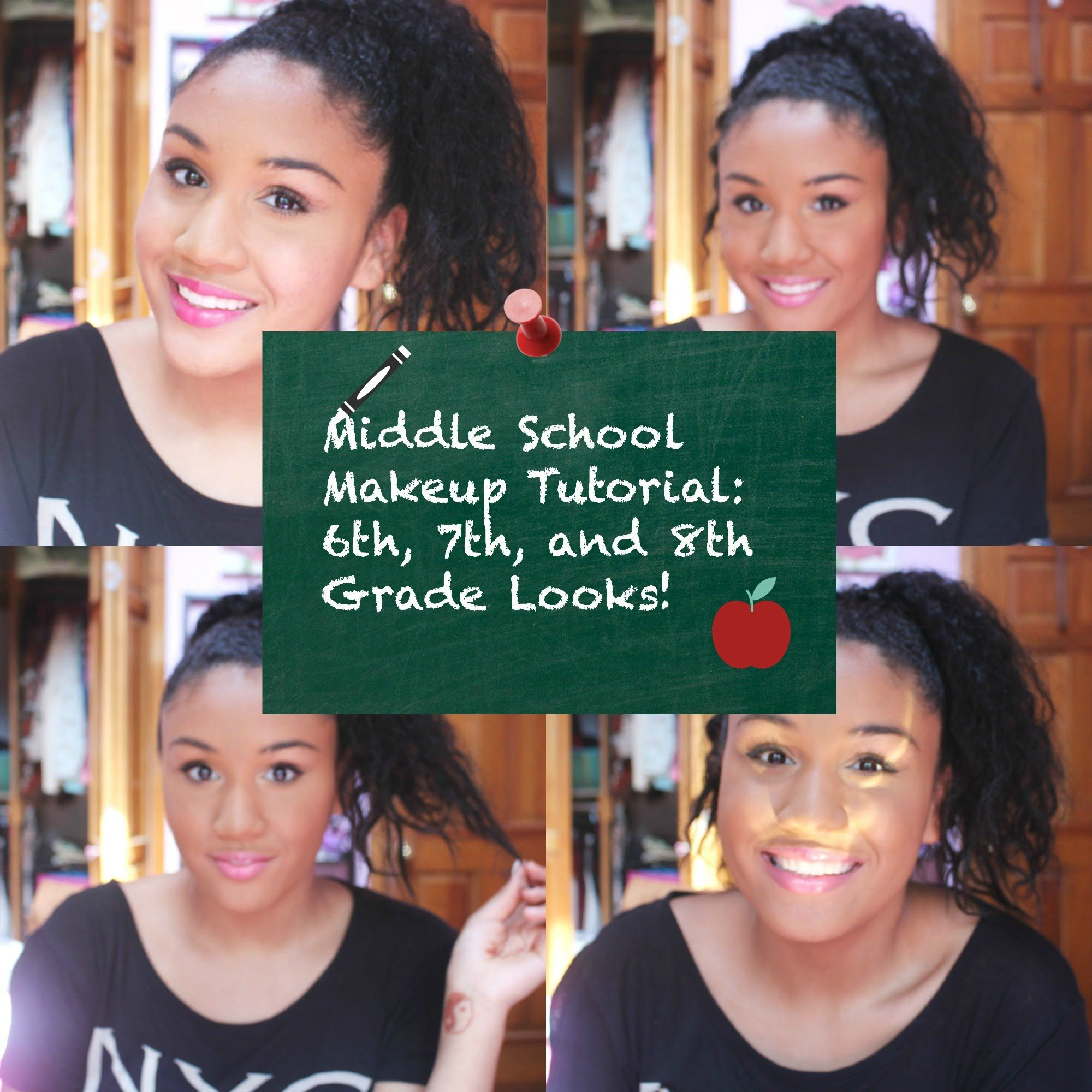 Middle School Makeup Tutorial 6th, 7th, and 8th Grade
