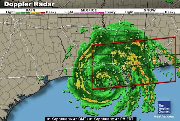 Hurricane Gustav Making Landfall Near Morgan City La In 2008 New Orleans History Morgan City Hurricane History