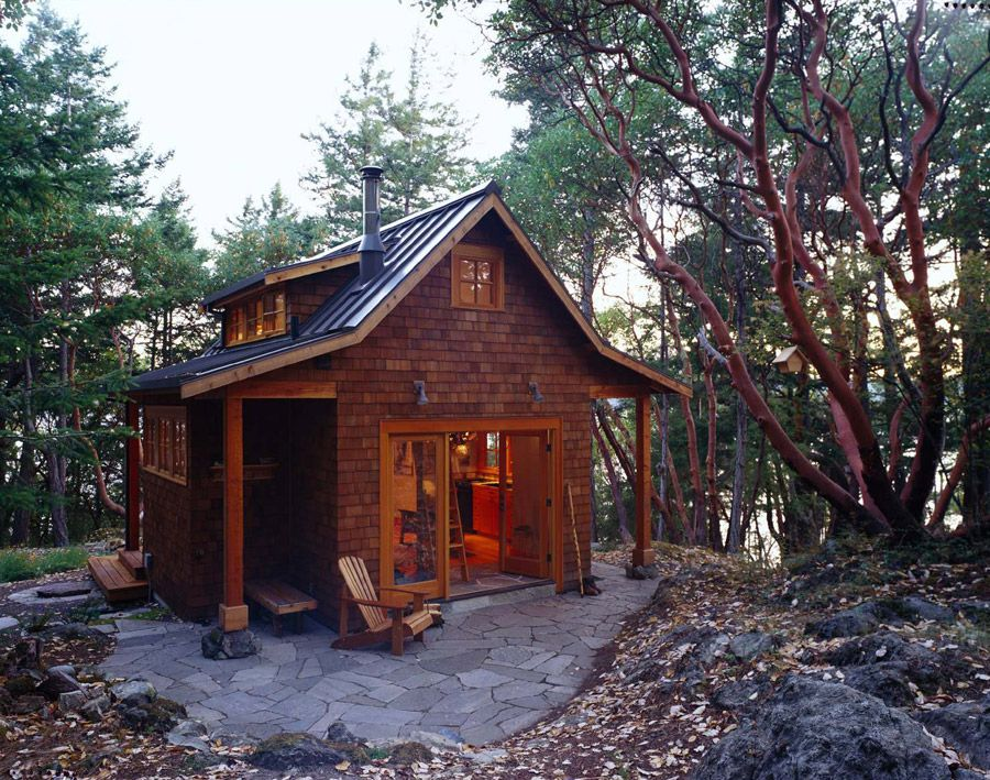 Magnificent Orcas Island Cabin Cabins Tiny Cabins Tiny House Tiny Download Free Architecture Designs Scobabritishbridgeorg