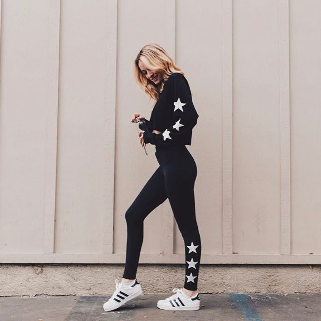 Black adidas climate control leggings