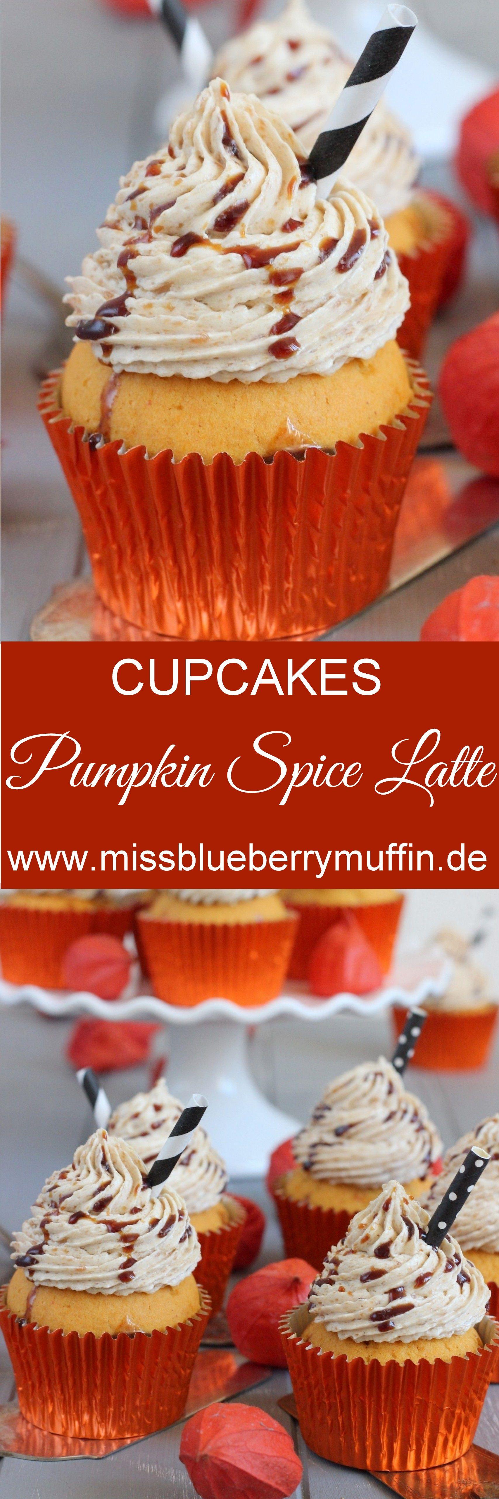 [Anzeige] Pumpkin Spice Latte Cupcales // Kürbis Cupcakes mit Kaffeebuttercreme <3