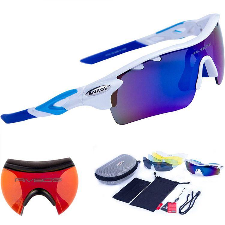 Polarized Sports Outdoor Sunglasses 5 Interchangeable Lens