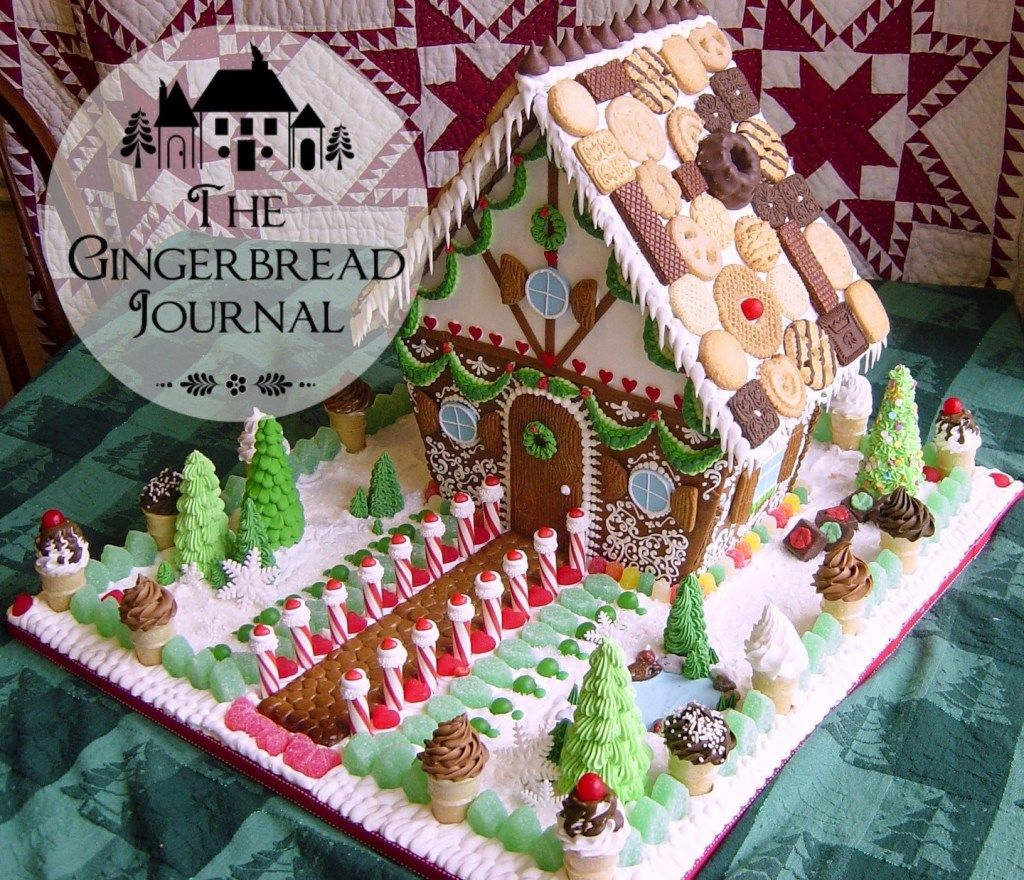 Vintage and Classic … More Gingerbread Houses from Christmas Past