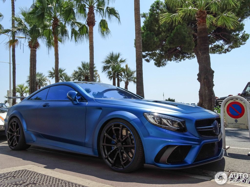 Mercedes Benz Mansory S 63 Amg Coupe Diamond Edition 4 Autos